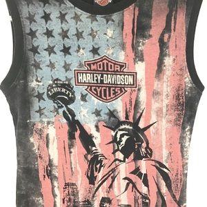 Harley-Davidson Tops - Harley-Davidson Lady Liberty Tank l Women's Large